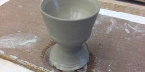 Potters Egg Cup