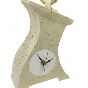 Thin Lizi Ceramic Clock