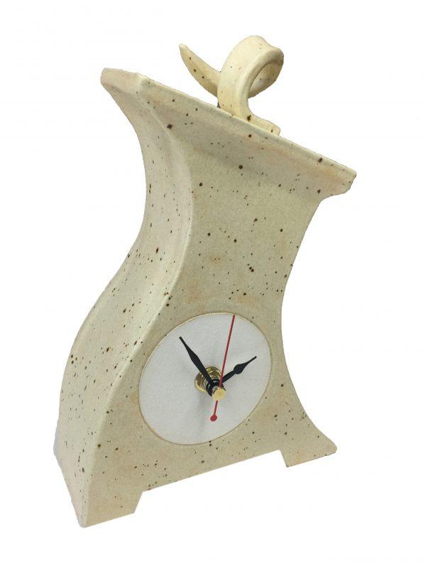 Thin Lizi Ceramic Clock